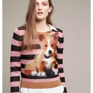 Anthropologie Troubadour Pupped Pullover Sweater